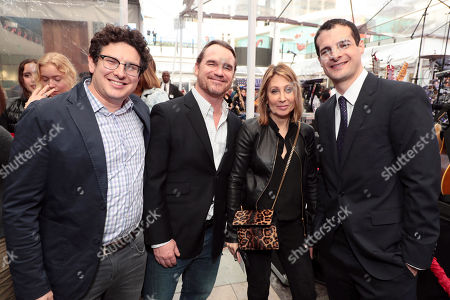 Stock Picture of Isaac Klausner, Producer, Marty Bowen, Producer, Stacey Snider, Chairman and CEO, 20th Century Fox Film, Pouya Shahbazian, Producer,