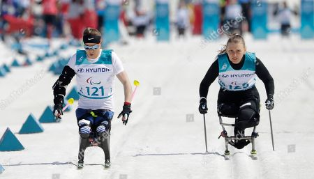 Editorial picture of Paralympics Cross Country, Pyeongchang, South Korea - 14 Mar 2018