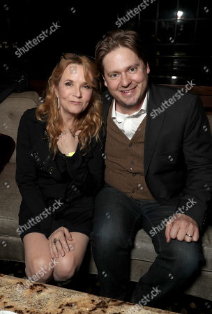 Stock Photo of Lea Thompson and Tim Heidecker