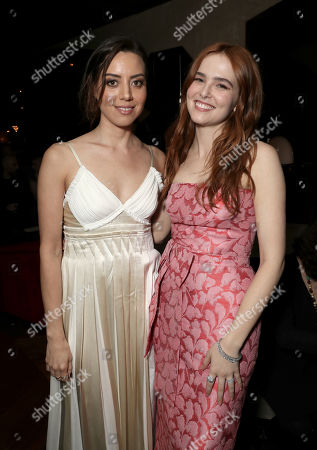 Stock Picture of Aubrey Plaza and Zoey Deutch