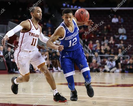 Editorial picture of NCAA BKC UNC Asheville vs USC Trojans, Los Angeles, USA - 13 Mar 2018