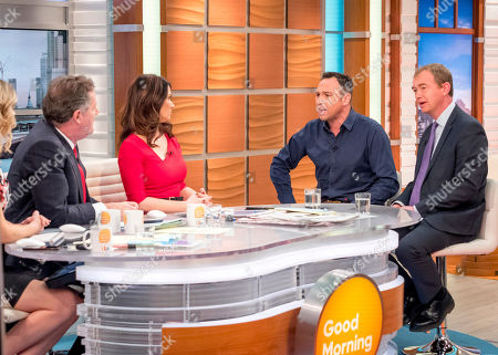 Charlotte Hawkins, Piers Morgan, Susanna Reid, Jason Cundy and Tim Farron