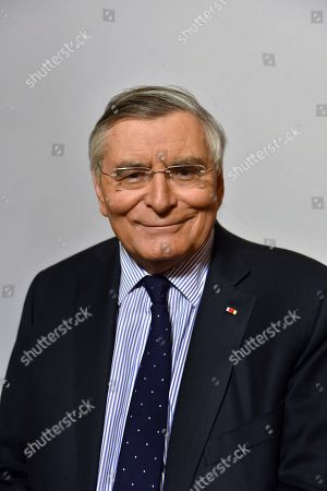 Editorial photo of Jean-Louis Beffa, president d'honneur de Saint-Gobain, France - 13 Mar 2018