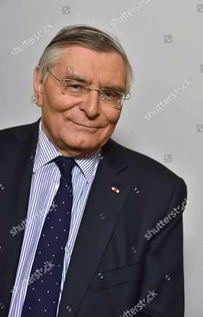 Editorial image of Jean-Louis Beffa, president d'honneur de Saint-Gobain, France - 13 Mar 2018