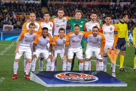 Editorial image of AS Roma v Shakhtar Donetsk, UEFA Champions League match, Stadio Olimpico, Rome, Italy  - 13 Mar 2018