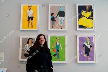 Editorial photo of Art Capital: Art for the Elizabeth line, Whitechapel Gallery, London, UK - 13 Mar 2018