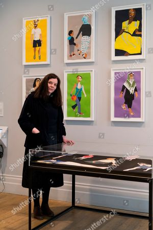 Editorial image of Art Capital: Art for the Elizabeth line, Whitechapel Gallery, London, UK - 13 Mar 2018