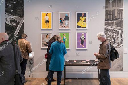 Editorial picture of Art Capital: Art for the Elizabeth line, Whitechapel Gallery, London, UK - 13 Mar 2018