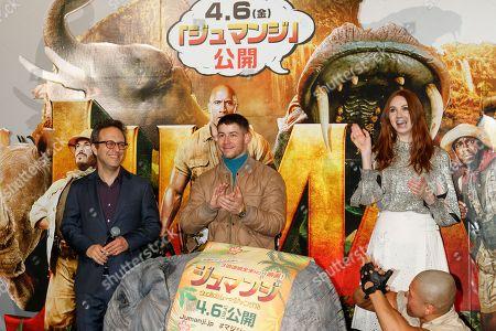 Editorial photo of 'Jumanji, Welcome to the Jungle' screening, Tokyo, Japan - 14 Mar 2018