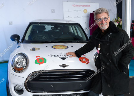 Eddie Jordan with an Official Mini of The Festival