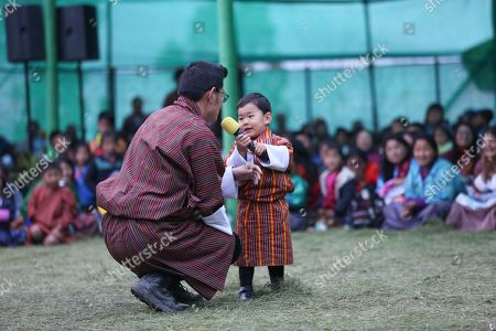 Bhutan The Prince The Gyalsey with Majesty King Jigme Khesar Namgyel Wangchuck