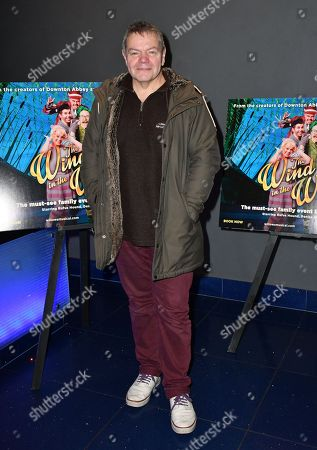 Anthony Drewe at a screening of filmed performance of West End musical at Vue Piccadilly