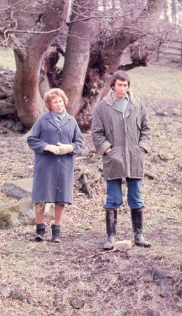 Ep 0309 - 0320 Monday 29th March - Tuesday 11th May 1976  After more than two years, Jack Sugden returns to Emmerdale Farm, but his reasons for doing so are initially unclear. During he's stay he meets Joe's wife, Christine, but it soon becomes clear that they are having problems. Before he leaves he reaches a new understanding with his brother - With Jack Sugden, as played by Andrew Burt, and Annie Sugden, as played by Sheila Mercier.