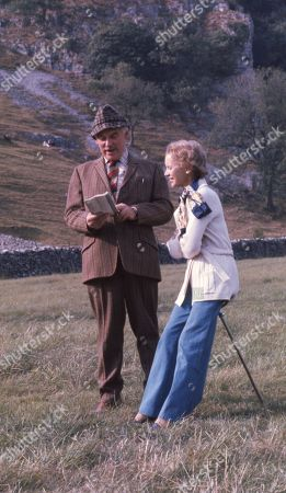 Henry Wilks, as played by Arthur Pentelow, and Janet Thompson, as played by Muriel Pavlow.