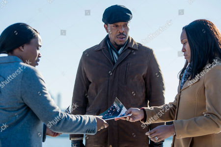 Stock Picture of Clare-Hope Ashitey, Russell Hornsby, Regina King