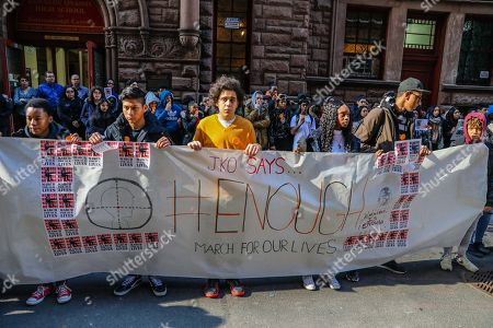 National School Walkout at the Jacqueline Kennedy Onassis School