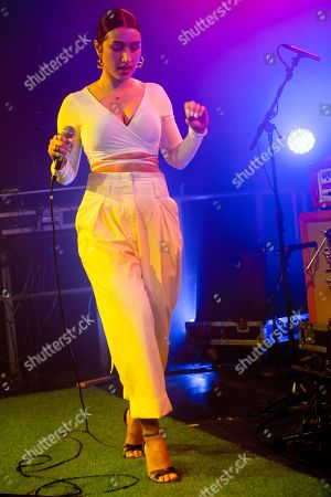 Editorial image of Little Simz Welcome to Wonderland music festival, London, UK - 04 Mar 2018