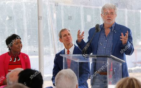 Editorial photo of George Lucas-Museum, Los Angeles, USA - 14 Mar 2018
