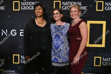 Mae Jemison, Nicole Stott, Peggy Whitson