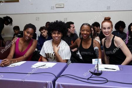 Editorial photo of The Garden of Dreams Talent Show Rehearsal, New York, USA - 14 Mar 2018
