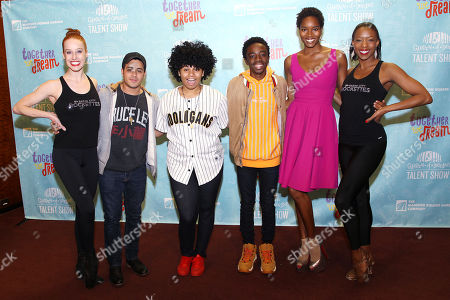 Natalie Reid, Christian Navarro, We McDonald, Caleb McLaughlin, Damaris Lewis, Danelle Morgan