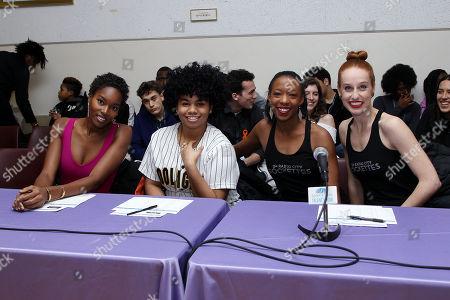 Stock Photo of Damaris Lewis, We McDonald, Danelle Morgan, Natalie Reid