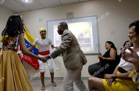 Editorial picture of US Diplomat, Lecheria, Venezuela - 14 Mar 2018