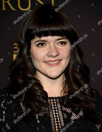 """Stock Photo of Madeleine Martin attends a special screening of FX Networks' """"Trust"""" at Florence Gould Hall, in New York"""