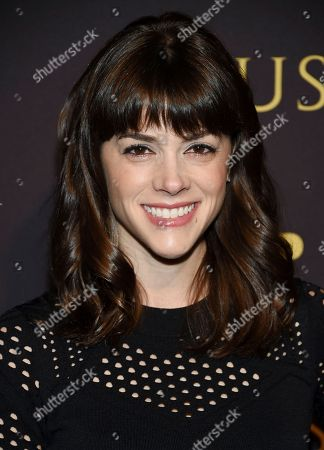 """Stock Photo of Margaret Anne Florence attends a special screening of FX Networks' """"Trust"""" at Florence Gould Hall, in New York"""