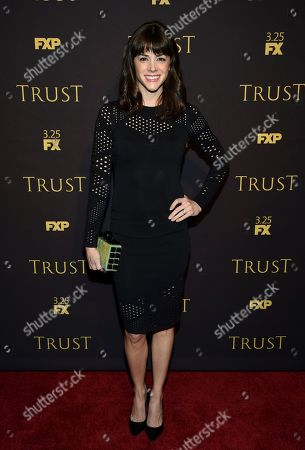 """Margaret Anne Florence attends a special screening of FX Networks' """"Trust"""" at Florence Gould Hall, in New York"""