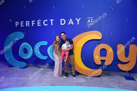 Carlos PenaVega, Alexa PenaVega, Ocean PenaVega. Actor and adventure seeker Carlos PenaVega (R), Alexa PenaVega (L), and Ocean PenaVega, preview Perfect Day at CocoCay, Bahamas, the first destination in Royal Caribbean's new Perfect Day Island Collection during an event at Seaport District NYC on in New York