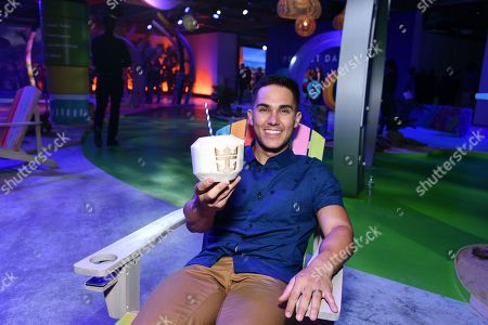 Actor and adventure seeker Carlos PenaVega previews Perfect Day at CocoCay, Bahamas, the first destination in Royal Caribbean's new Perfect Day Island Collection during an event at Seaport District NYC on in New York