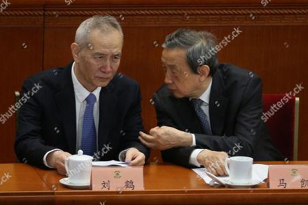 Ma Kai and Liu He