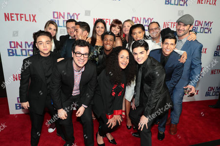 "Editorial image of Netflix' ""On My Block"" premiere screening and reception, Los Angeles, USA - 14 Mar 2018"