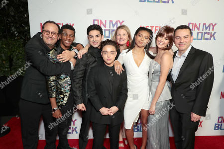 """Editorial picture of Netflix' """"On My Block"""" premiere screening and reception, Los Angeles, USA - 14 Mar 2018"""
