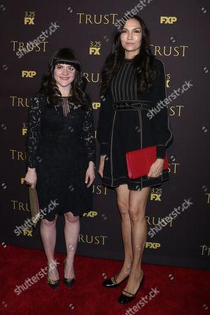 Editorial photo of 'Trust' TV show screening, New York, USA - 14 Mar 2018