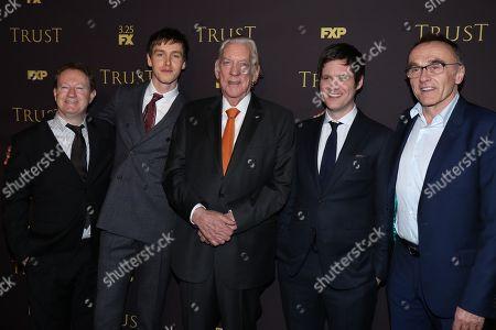Simon Beaufoy, Harris Dickinson, Donald Sutherland, Michael Esper, Danny Boyle