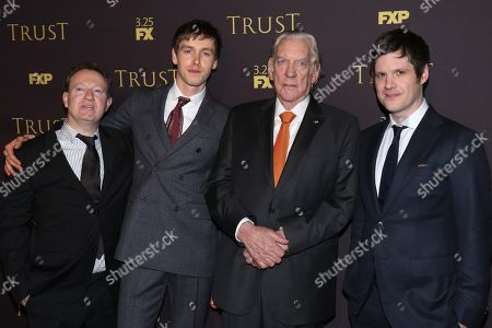 Simon Beaufoy, Harris Dickinson, Donald Sutherland, Michael Esper