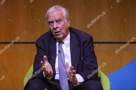 Stock Picture of Lord David Owen, keynote speaker