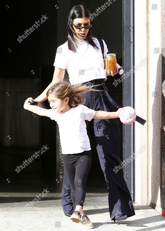 Kourtney Kardashian and Penelope Disick