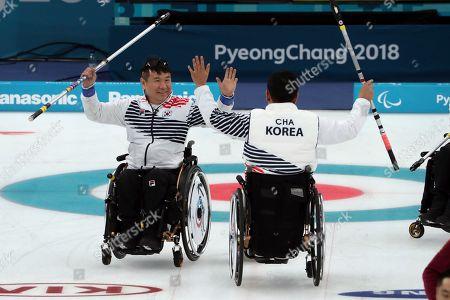 Editorial picture of Pyeongchang Paralympics Curling, Gangneung, South Korea - 15 Mar 2018