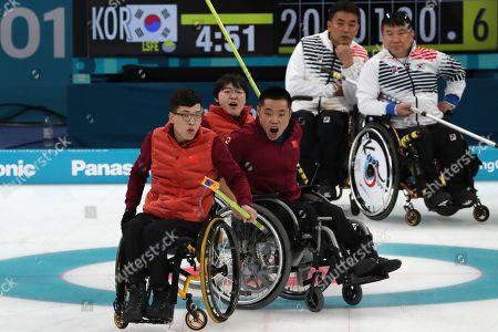 Editorial photo of Pyeongchang Paralympics Curling, Gangneung, South Korea - 15 Mar 2018
