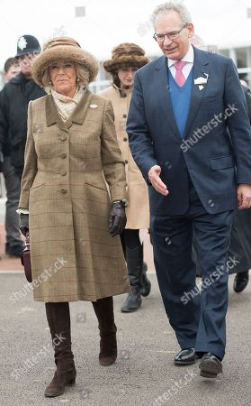 Stock Image of Camilla Duchess of Cornwall and Robert Waley-Cohen