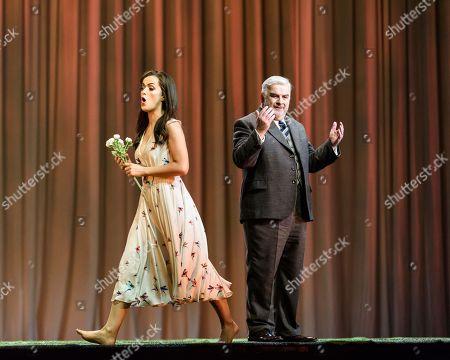 Claudia Boyle (Violetta Valery), Alan Opie (Giorgio Germont).
