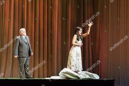 Editorial image of Giuseppe Verdi's 'La Traviata' at the London Coliseum, London, UK - 14 Mar 2018