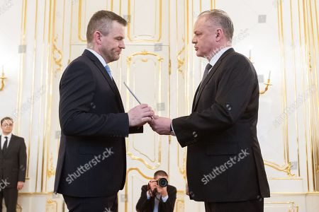 Andrej Kiska and Peter Pellegrini