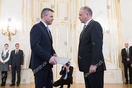 Andrej Kiska and Peter Pellegrini