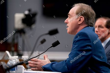Veterans Affairs Secretary David Shulkin speaks at a House Appropriations subcommittee hearing on Capitol Hill in Washington