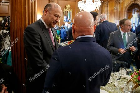 Outgoing White House chief economic adviser Gary Cohn attends a luncheon with President Donald Trump and Irish Prime Minister Leo Varadkar on Capitol Hill, in Washington