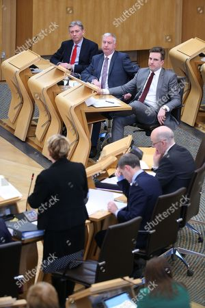 Offensive Behaviour at Football and Threatening Communications (Repeal) (Scotland) Bill - Richard Leonard, Leader of the Scottish Labour Party, James Kelly, who introduced this Member's Bill on the 21st of June 2017, Daniel Johnson, Annabelle Ewing, Minister for Community Safety and Legal Affairs, Michael Matheson, Cabinet Secretary for Justice, and John Swinney, Deputy First Minister and Cabinet Secretary for Education and Skills